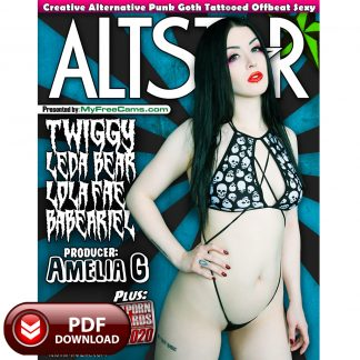 AltStar Magazine Cover Twiggy