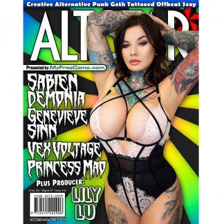 AltStar Magazine Cover Sabien Demonia